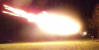 12 Gauge FireBall round, 5 Rounds, Dragon's Breath